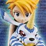 G.E.M. Series Digimon Adventure Ishida Yamato & Gabumon (PVC Figure)