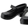 50cm One-Strap Shoes (Black) (Fashion Doll)