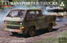 T3 Transporter Trucks (Double Cab) (Plastic model) (M...