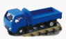 Road-Rail Vehicle [Dump] (Body Color : Blue) (Model Train)