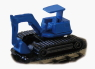 Road-Rail Vehicle [Excavator] (Body Color : Blue) (Model Train)