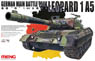 German Main Battle Tank Leopard 1 A5 (Plastic model)
