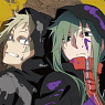 Mekaku City Actors Bathroom Poster Kido & Kano B (Anime Toy)