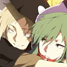 Mekaku City Actors A3 Clear Poster Kido & Kano (Anime Toy)