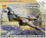 Bristol Blenheim MKIV British Light Bonber (Plastic model)