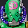 Super Figure Action [JoJo`s Bizarre Adventure] Part VI 71.Diver Down (Hirohiko Araki Specify Color) (PVC Figure)