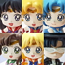 Petit Chara Land Sailor Moon Makeup by Candy! (Set of 6) (PVC Figure)