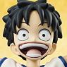 Excellent Model Portrait.Of.Pirates One Piece Series CB-R1 Monkey D. Luffy (PVC Figure)