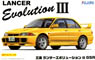 Mitsubishi Lancer Evolution III GSR w/Window Frame Masking (Model Car)