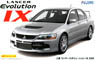 Mitsubishi Lancer Evolution IX GSR w/Window Frame Masking (Model Car)