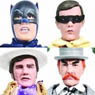 Batman 1966 TV Series/ Retro 8 Inch Action Figure Series 3 : 4 kinds set (Completed)