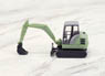 (N) Schaeff HR18 Mini Power Shovel (Light Green) (Mini-Bagger HR18) (Model Train)