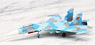 006. Su-27 Flanker (61st. Fighter Air Base, Baranovichi AB, Belarus, 2012) (完成品飛行機)