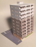 (N) Apartment Kit (A) (Pre-colored Kit) (Model Train...