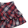 PNS Furifuri Tiered skirt (Red x Navy Plaid) (Fashion Doll)