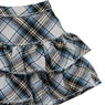 PNS Furifuri Tiered skirt (White x Blue Plaid) (Fashion Doll)