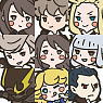 Bravely Default Rubber Strap 10 pieces (Anime Toy)