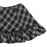 Komorebimori no Oyofukuyasan [PNS Ribbon Ruffle skirt] (Black x White Plaid) (Fashion Doll)