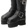 Komorebimori no Oyofukuyasan [Engineer Boots] (Black) (...
