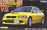 Mitsubishi Lancer Evolution VII GSR w/Window Frame Masking (Model Car)