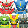 Tenkai Knights X Mode Hyper Figuration Figure 10 pieces (Shokugan)