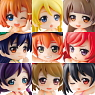 Toys Works Collection 2.5 Deluxe Love Live! 9 pieces (PVC Figure)