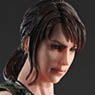 Metal Gear Solid V The Phantom Pain Play Arts Kai Quiet (PVC Figure)