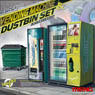 Automatic Vending Machines and Trash (Plastic model)