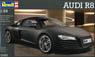 Audi R8 (Matte Black) (Model Car)