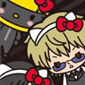 HELLO KITTY x DRRR!! Compact Mirror M Izaya, Shizuo and Celty (Anime Toy)