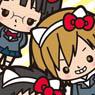 HELLO KITTY x DRRR!! Compact Mirror M Mikado, Kida Kun and Anri (Anime Toy)
