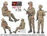 *Israeli Defense Tank Commander & Female soldier (2Figures) (Plastic model)
