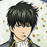 [Gintama] Long Clear Poster [Hijikata Toshiro] (Anime Toy)