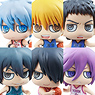 Petit Chara! Series Kuroko`s Basketball Game Episode 1st Q 6 pieces (PVC Figure)