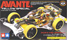 Avante Jr. Yellow Special (Clear Body) (VS Chassis) [Mini 4WD limited] (Mini 4WD)