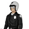 ReAction - 3.75 Inch Action Figure: Terminator 2: Judgment Day / Series 1 - T-1000 (Patrolman Version) (Completed)