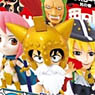 Anime Chara Heroes One Piece Dressrosa 1 15 Pieces (PVC Figure)