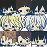 es nino Rubber Strap Collection Psycho-Pass 8 pieces (Anime Toy)