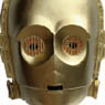 Star Wars / C-3PO Mask (Completed)