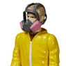 ReAction - 3.75 Inch Action Figure: Breaking Bad / Series 1 - Jesse Pinkman (Cook Version) (Completed)