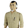 ReAction - 3.75 Inch Action Figure: The Karate Kid / Series 1- Series 1- Mr. Miyagi (Completed)