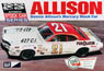 1971 Donnie Allison`s Mercury Stock Car (Model Car)