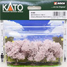 Cherry Blossom Trees (50mm) (3pcs.) (Model Train)