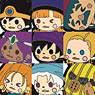 Theatrhythm Dragon Quest Character Rubber Strap 10 pieces (Anime Toy)