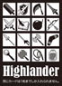 Monochrome Sleeve Collection [Highlander] (Anime Toy)
