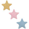 1/6 Good Sleep Star Cushion Set (3 pieces) (Yellow/Pink/Light Blue) (Fashion Doll)