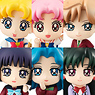 Petit Chara Land Sailor Moon More School Life of Girl! 6 pieces (PVC Figure)