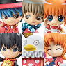 Petit Chara Land Gintama Gintama-san in Wonderland Passion of Red Rouge 6 pieces (PVC Figure)