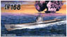 IJN Submarine Kaidai VIa I-168 (Plastic model)