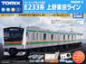 Basic Set SD Series E233-3000 (Ueno-Tokyo Line) (3-Car Set) (Track Layout Pattern A) (Model Train)